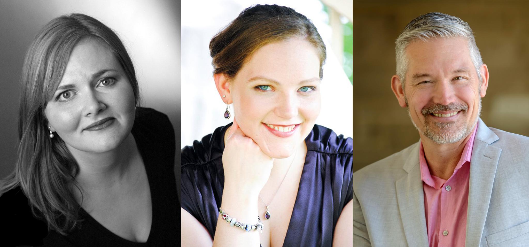 Debra Hillabrand, mezzo soprano, Leslie Mallory, soprano, Bill Stein, organ